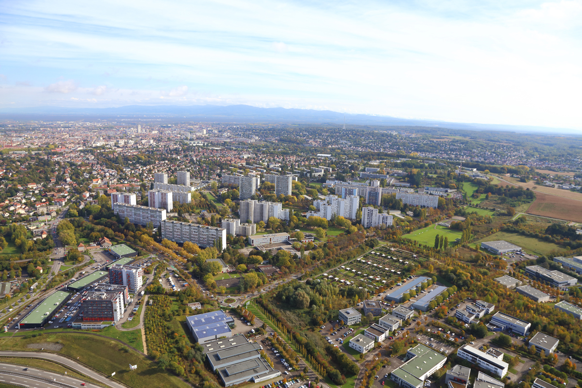alsaprint mulhouse photo aerienne mulhouse